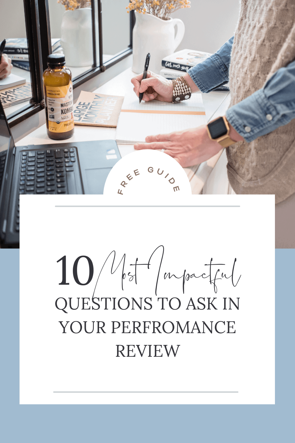 10 Most Impactful Questions to Ask In Your Performance Review cover image