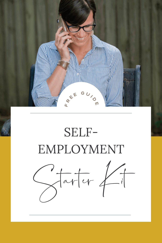 Self-Employment Starter Kit lead magnet